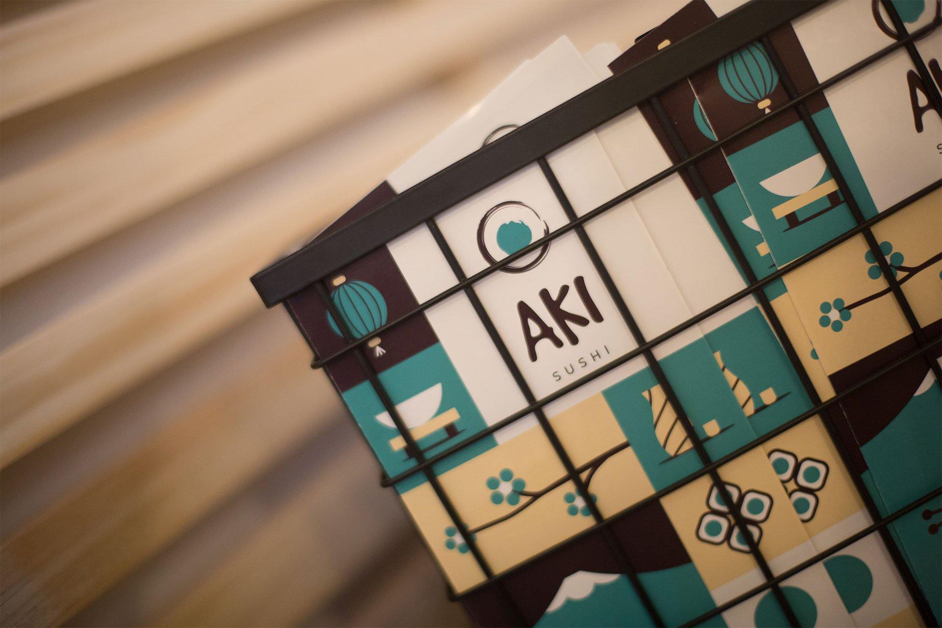 diseño-papeleria-aki-sushi