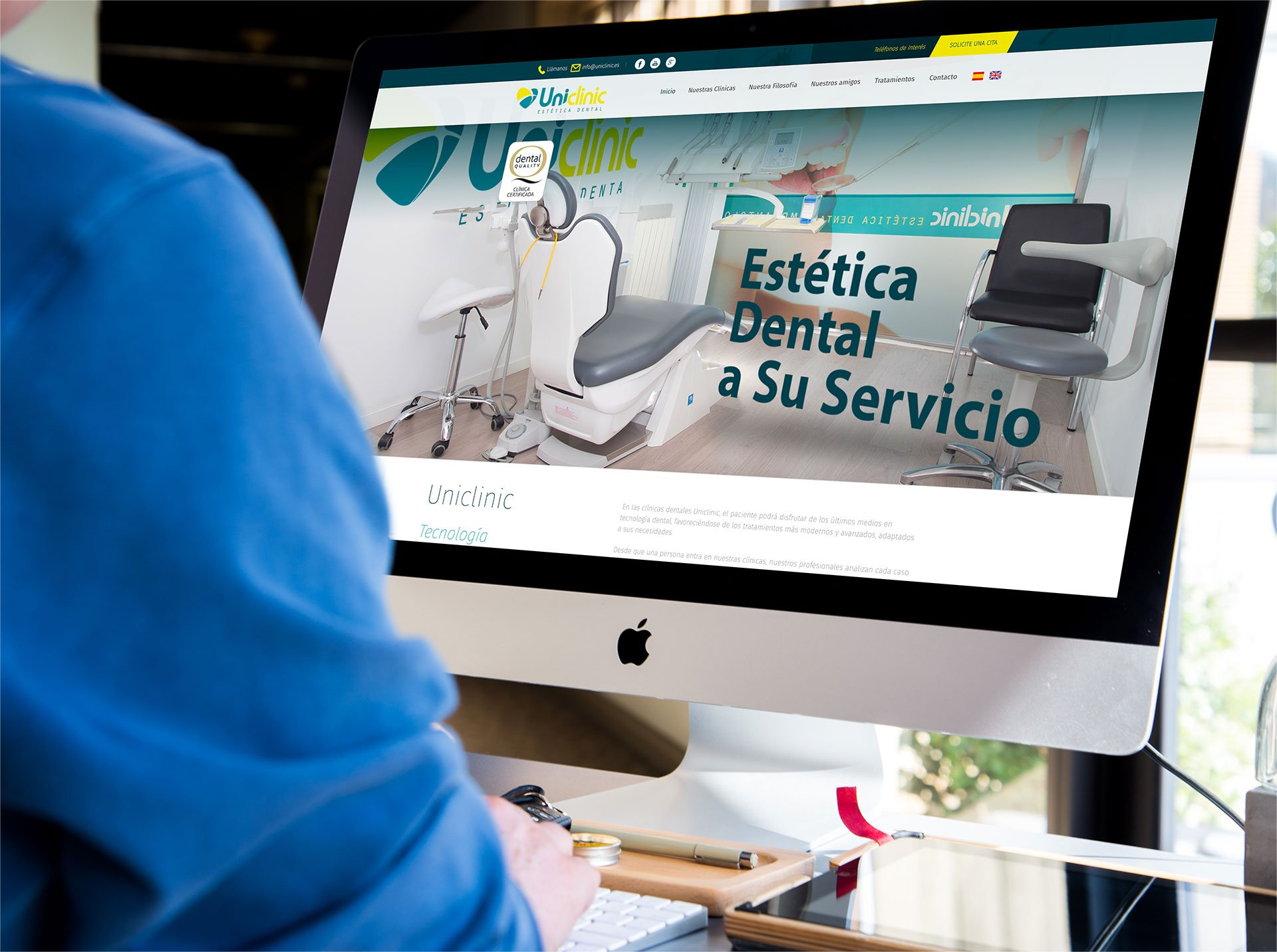 diseño-web-uniclinic